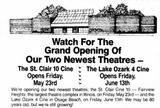 May 11th, 1986 grand opening announcement