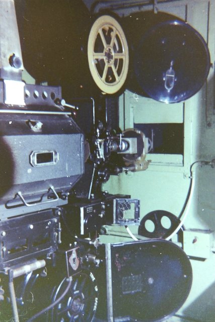 Plaza, Fenton, projection room, Friday, August 20th, 1971.