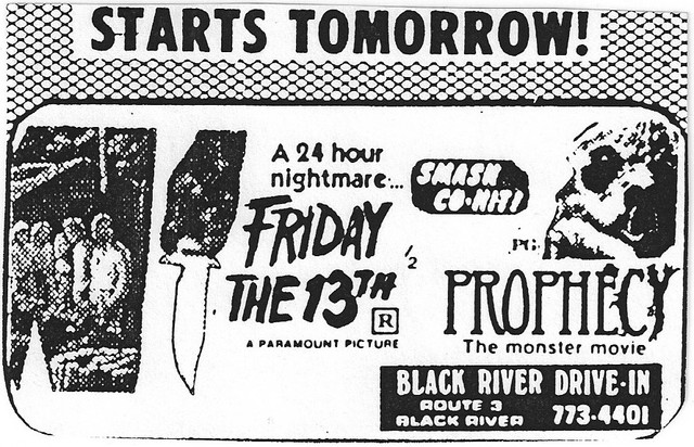 FRIDAY THE 13TH-PROPHECY double bill 1980