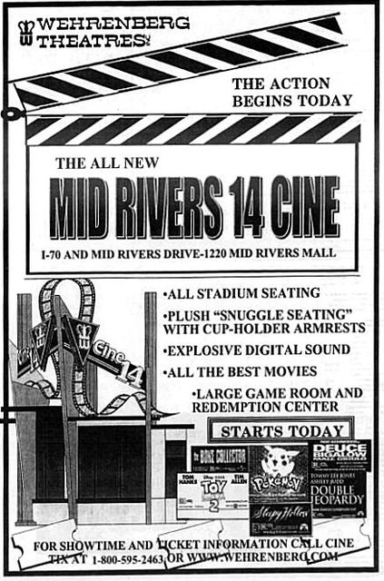 December 10th, 1999 grand opening ad
