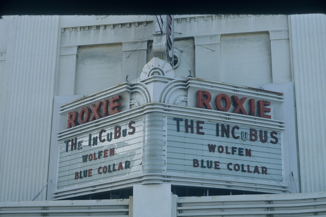 Roxie, 1982