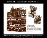 Roxy Theatre-Barrie, ON. CA *Downtown-Main Street 1941