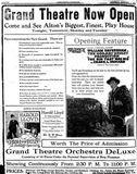 December 4th, 1920 grand opening ad