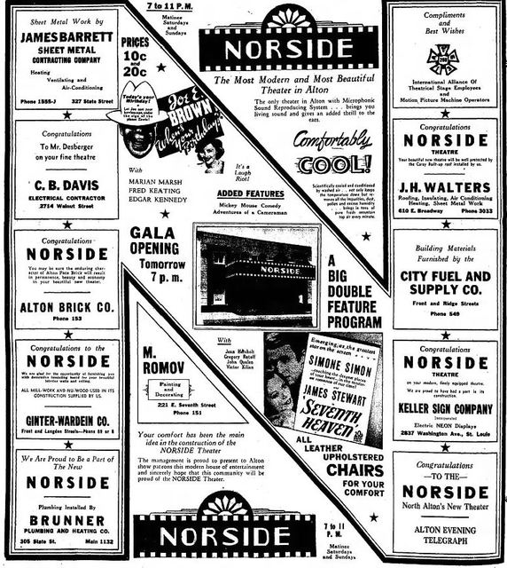 July 14th, 1937 grand opening ad