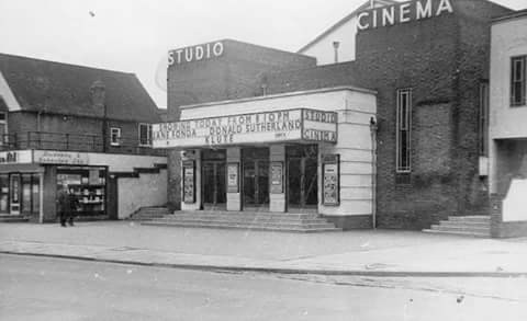 Studio Cinema, Bletchley. Circa 1971