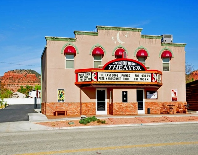 Image result for crescent moon theater kanab