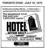 "AD FOR ""HOTEL"" - CAPITOL FINE ART THEATRE"