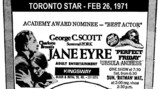 "AD FOR ""JANE EYRE & PERFECT FRIDAY"" - KINGSWAY THEATRE"