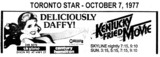 "AD FOR ""KENTUCKY FRIED MOVIE"" - SKYLINE & CENTURY THEATRES"