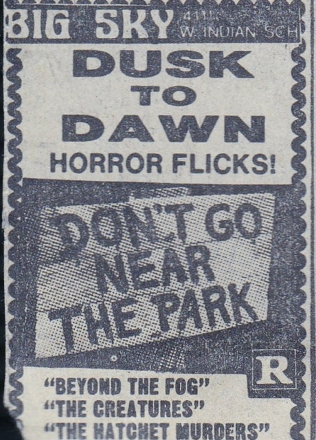 Dusk to Dawn Horror
