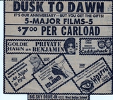 Big Sky Anniversary Dusk to Dawn 5 Movies