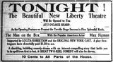 October 28th, 1914 grand opening ad