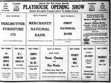 September 27th, 1926 grand opening ad as Playhouse