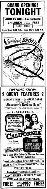 September 10th, 1949 grand opening ad