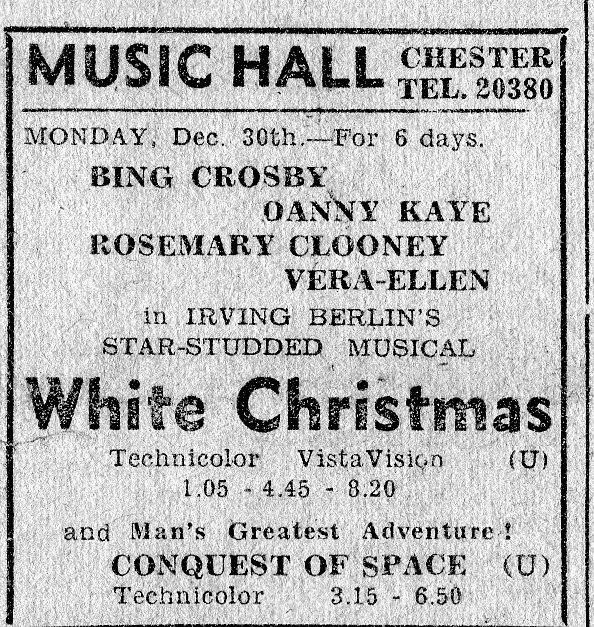 WHITE CHRISTMAS AD
