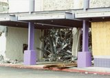 Beaverton Westgate theater during demolition, April 10, 2006