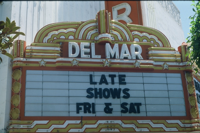 Marquee detail, 1982