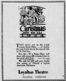 Loyalton Theatre