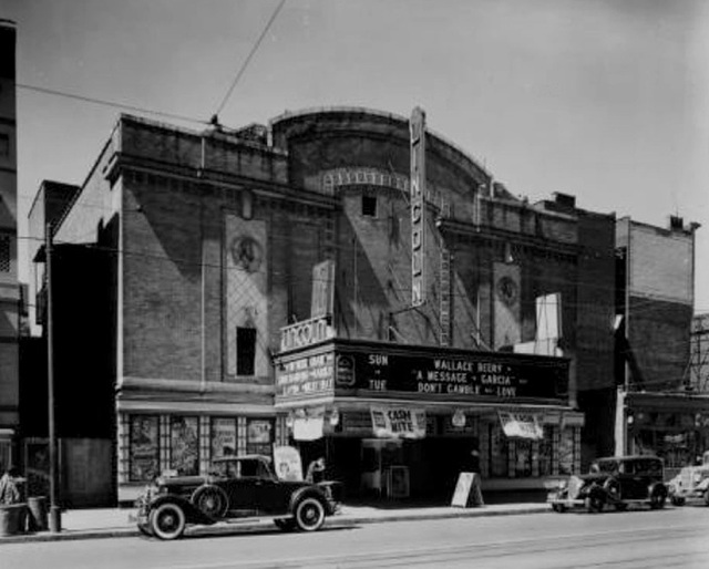 The Lincoln served as a cinema in the 1940's and 1950's, but may have had a  larger seating capacity when originally presenting vaudeville and plays.