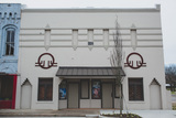 """[""""Facade of The Bells Theatre E Main Street in Bells, Tennessee. Help us revive our theatre! bit.ly/bellstheatre""""]"""