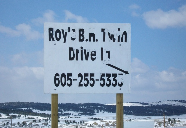 Roy's Black Hills Twin Drive-In