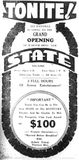 September 3rd, 1937 grand opening ad