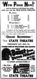 November 6th, 1953 grand opening ad