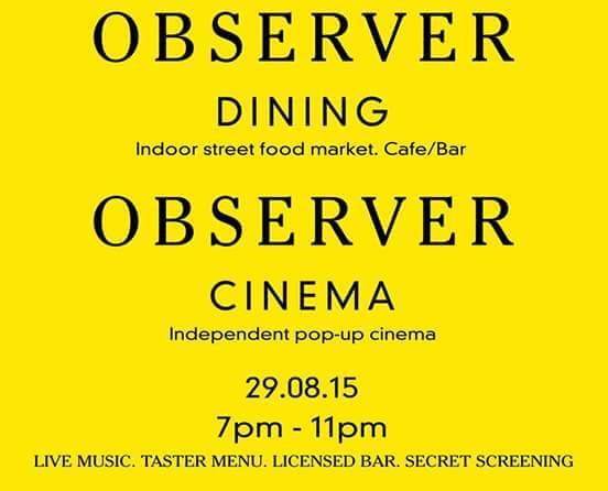 Observer Cinema
