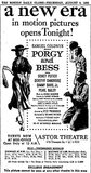 Porgy And Bess - Astor
