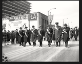 Saint Patrick's Day Parade 1959. Photo courtesy of the Chicago's Extinct Businesses facebook page.