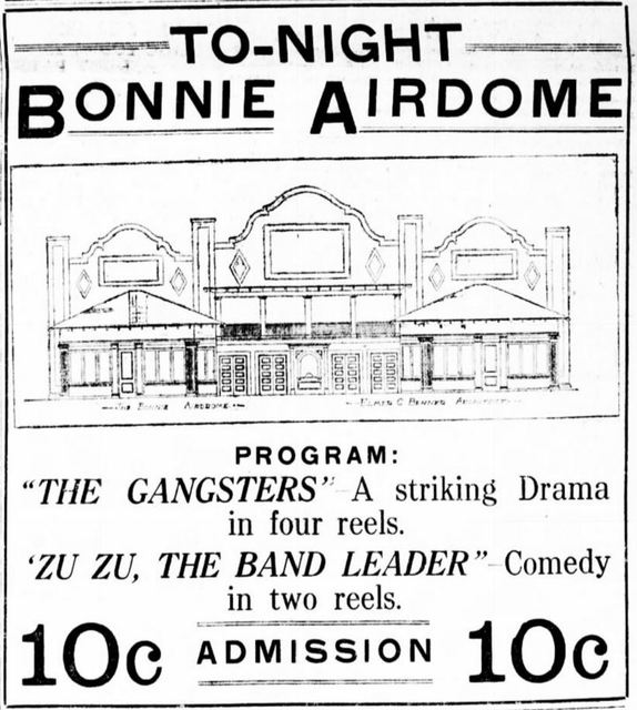 June 20th, 1914 grand opening ad