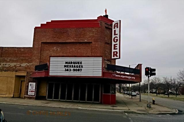 Alger Theater, Detroit, Michigan, March 12, 2016