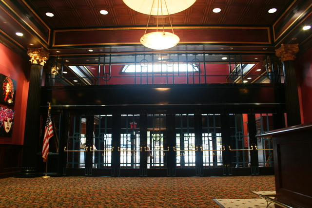 Theatre Lobby- designed by William J. Miller, R.A.- WH Design Studio (formerly New York Design Studios
