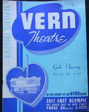 Vern Theatre Opening Night program