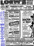 <p>June 29th, 1956 grand opening ad from the New York Times</p>