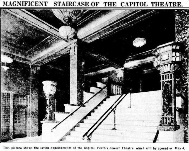 Capitol Theatre Staircase