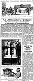 Newspaper report on the Ambassadors' 'atmospherics'