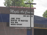 Maple Art Theater, Bloomfield Hills, Michigan, May 2011
