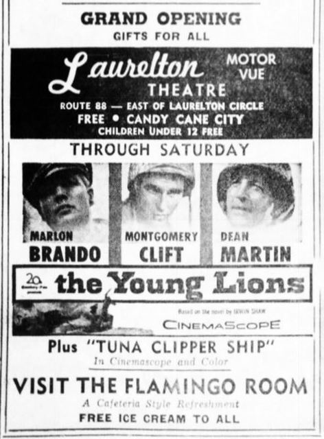 June 18th, 1958 grand opening ad