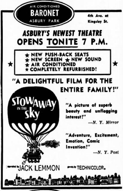 June 29th, 1962 grand opening ad