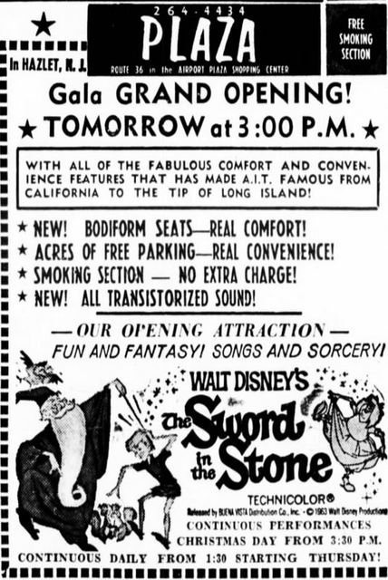 December 24th, 1963 grand opening ad