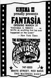 March 31st, 1971 grand opening ad as Cinema III