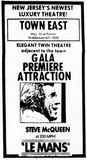 August 27th, 1971 grand opening ad for Town East
