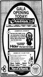 May 25th, 1973 grand opening ad