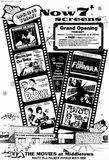 December 19th, 1980 grand opening as Movies at Middletown.
