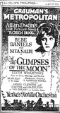 "Grauman's Metropolitan Theatre ""The Glimpses of the Moon"" (1923) newspaper ad"