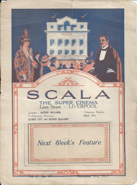 Scala Super Cinema program