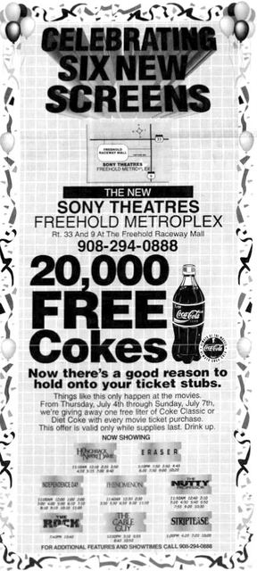 July 5th, 1996 expansion grand opening ad