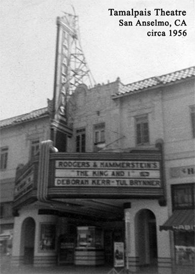 Tamalpais Theatre, San Anselmo, CA
