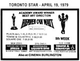 """AD FOR """"HEAVEN CAN WAIT"""" - SQUARE ONE & OTHER THEATRES"""